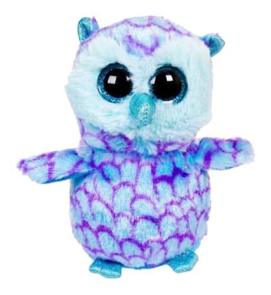 Мягкая игрушка ABtoys Совенок голубой, 15 см