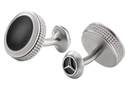 Запонки Mercedes-benz B66953090 Silver/Black