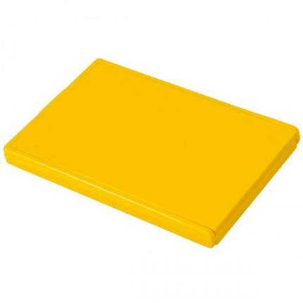 Зеркальце карманное VS желтое