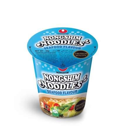 Лапша быстрого приготовления Nongshim с морепродуктами стакан 65 г