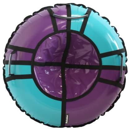 Тюбинг Hubster Sport Pro фиолетовый-бирюзовый 90 см