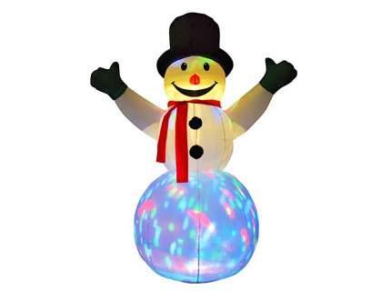 Надувная новогодняя игрушка Торг Хаус DWF146-SN10
