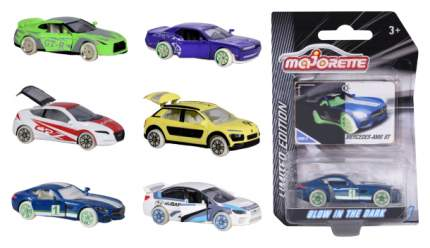 Машинка Limited Edition 4 (светится в темноте), 7.5 см Majorette