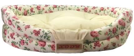 Лежак для собак и кошек Xody Бабочка, хлопок, нежность, 52х46х13 см