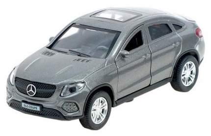 Машина металлическая инерционная Mercedes-Benz Gle Coupe, цвет серый, 12 см Технопарк