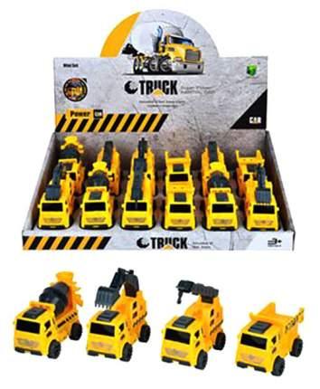 Набор машинок Ajb Toys Строительная техника