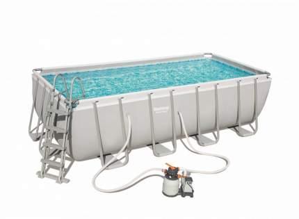 Каркасный бассейн BestWay 56671 4,88х2.44х1.22 м, полный комплект
