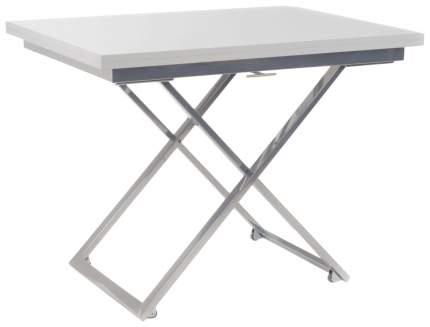 Кухонный стол Левмар Стол-трансформер Compact GL 70-140х100х34-76 см хром