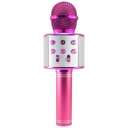 Беспроводной караоке-микрофон WS-858 Pink