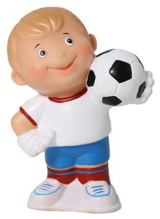 """Резиновая игрушка """"Футболист"""", 12 см Весна"""