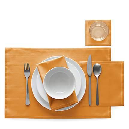 Сервировочные маты MY DRAP 45х32 см 12 шт в рулоне, цвет оранжевый