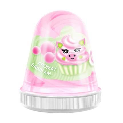 Слайм MONSTER'S SLIME FL003 Fluffy Бабл-гам розовый