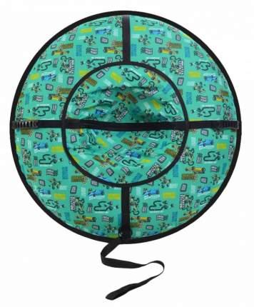Санки надувные Ватрушка серия Дизайн с молнией ВСД/4М 105см