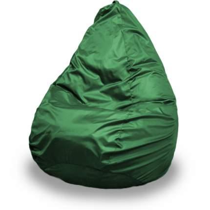 Кресло-мешок ПуффБери Груша Оксфорд XXL, зеленый