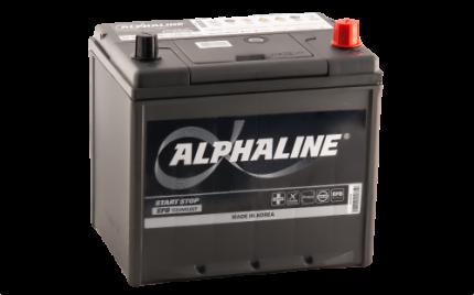 Аккумулятор ALPHALINE EFB 90D23 EFB PR 12В 65Ач 670CCA 230x172x220 мм Обратная (-+)