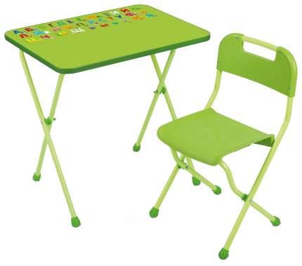 Набор детской складной мебели Nika Алина 2 Салатовый