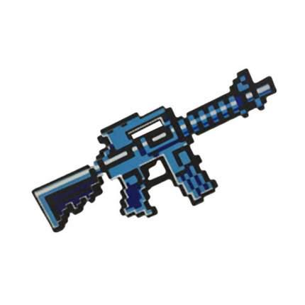 Игровой набор Автомат М4 8Бит пиксельный 39 См Цвет Синий