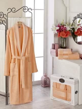 Банный комплект с халатом DO'n'CO Braeden Цвет: Оранжевый (xxL)