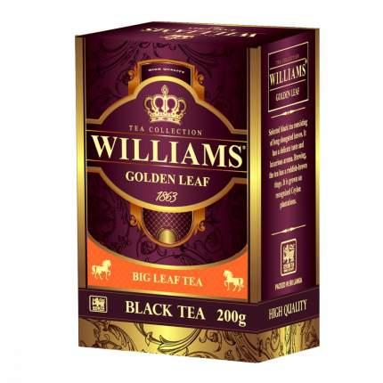 Чай Williams Golden Leaf черный 200 г