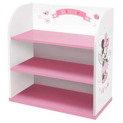 Стеллаж детский Polini kids Минни Маус-Фея, белый-розовый