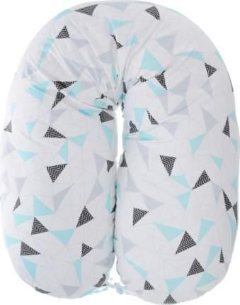 Подушка для беременных Amarobaby Exclusive Soft Collection Треугольники, 170х25 см