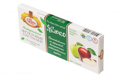 Пастилки Te Gusto Яблоко фруктовые натуральные 40 г
