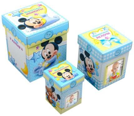 Набор шкатулок Disney Микки Маус 3 шт