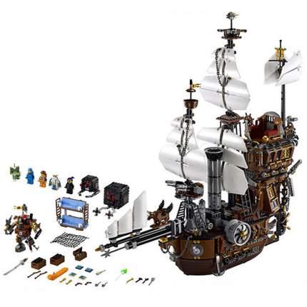 Конструктор KING 83002 корабль Стальной Бороды