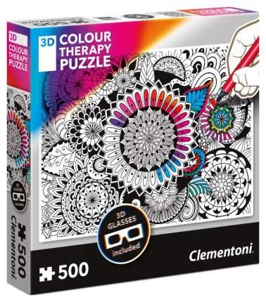 Пазл Clementoni Арт-терапия. Цветок 500 элементов
