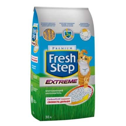 Наполнитель для кошачьего туалета Fresh Step Extreme тройная защита впитывающий 30л15,87кг