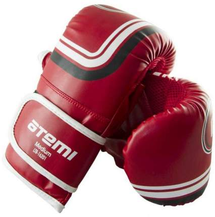 Снарядные перчатки Atemi LTB-16201, красные, L