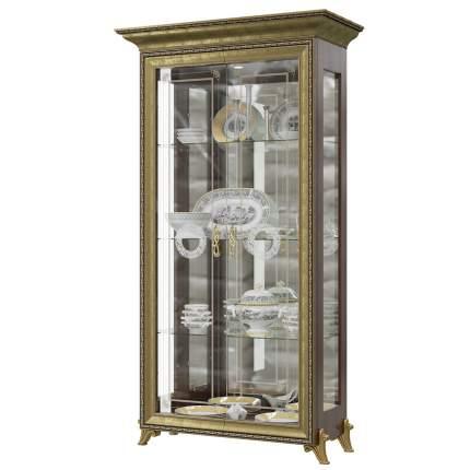 Платяной шкаф Мэри-Мебель Версаль ГВ-02 1073056 107х48х201, орех тайский