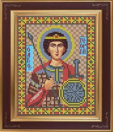 Вышивка бисером Galla Collection М247 Св.Георгий 12х15 см