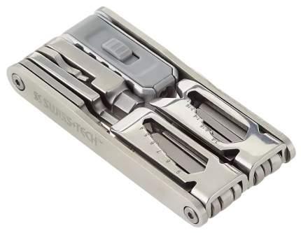 Мультитул Swiss+Tech Mega-Max ST41150 88 мм серебристый, 15 функций