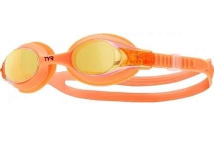 Очки для плавания TYR Swimple Mirrored LGSWM, 3-10 лет, оранжевые/серые (841)