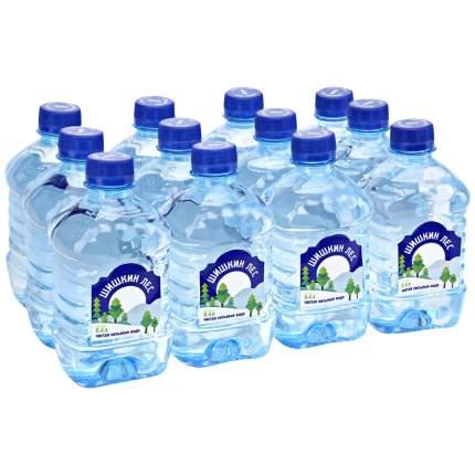 Вода Шишкин лес негазированная пластик 0.4 л 12 штук в упаковке