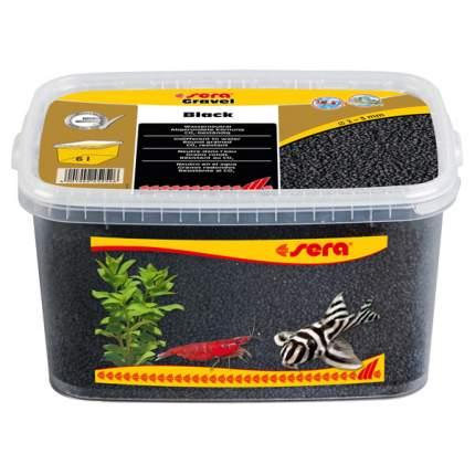 Грунт для аквариума Gravel Black (Черный) d 2-3 мм 6 л