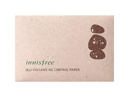 Матирующие салфетки Innisfree Beauty Tool Jeju Volcanic Oil Control Paper 50шт