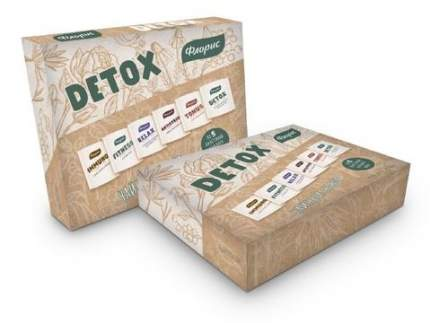 Набор чая Floris подарочный detox 6в1