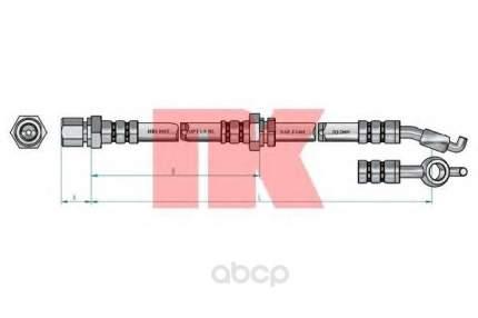 Шланг тормозной системы Nk 855021 задний левый
