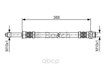 Шланг тормозной Bosch 1987476300