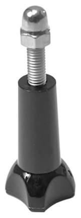 Крепёжный болт с крышечкой Deluxe DLGP-08 для GoPro, черный