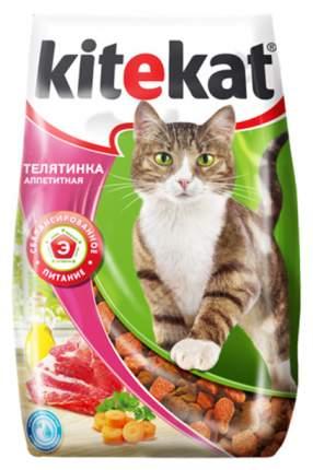 Сухой корм для кошек Kitekat, телятинка аппетитная, 10шт по 800г