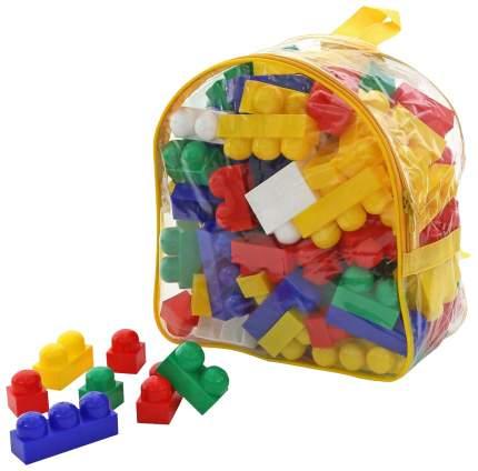 Конструктор пластиковый Полесье Юниор 100 элем в рюкзаке