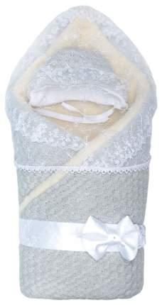 Конверт одеяло Жемчужинка серый мех Сонный Гномик