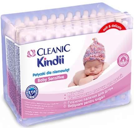 Ватные палочки для детей Cleanic Kindii 60 шт.