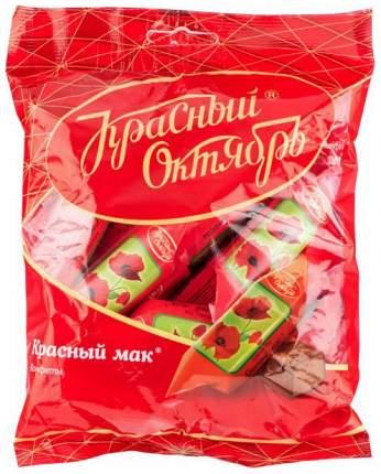 Конфеты шоколадные Красный Октябрь красный мак 250 г