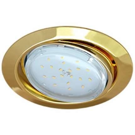 Ecola Gx53-Ft9073 Светильник Встраиваемый Поворотный Золото 40X120 Fg5390Ecb
