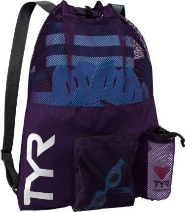 Рюкзак-сетка TYR Big Mesh Mummy Backpack фиолетовый (510)