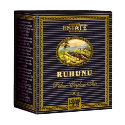 Чай estate Ruhunu пеко черный цейлонский 100 г